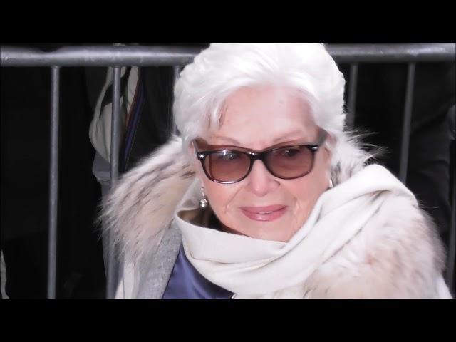 Line Renaud @ Paris Fashion Week 23 janvier 2019 défilé Jean Paul Gaultier Haute Couture