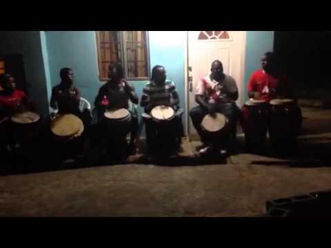 African, djembe drummers of Neptune's School Of Arts. Trinidad & Tobago