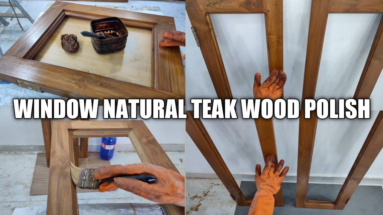 Natural Teak Plywood Polish And More ! | Part - 4