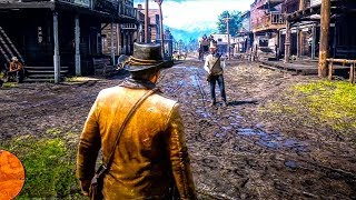 RED DEAD REDEMPTION 2 - PRIMEIRA GAMEPLAY!