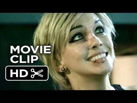 The Scribbler Movie CLIP - Knock Him Out (2014) - Katie Cassidy Sci-Fi Thriller HD