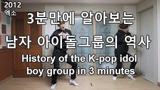 History of K-pop idol boy group 3분만에 알아보는 남자 아이돌그룹의 역사 K-pop Idol  [GoToe COVER]