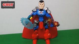 Lắp ráp LEGO siêu nhân Superman Robot siêu anh hùng đồ chơi trẻ em toy for kid