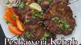 Peshaweri Kebab recipe/ Peshawari dhaba kabab/  Pakistani kebabs/ Beef kebabs..