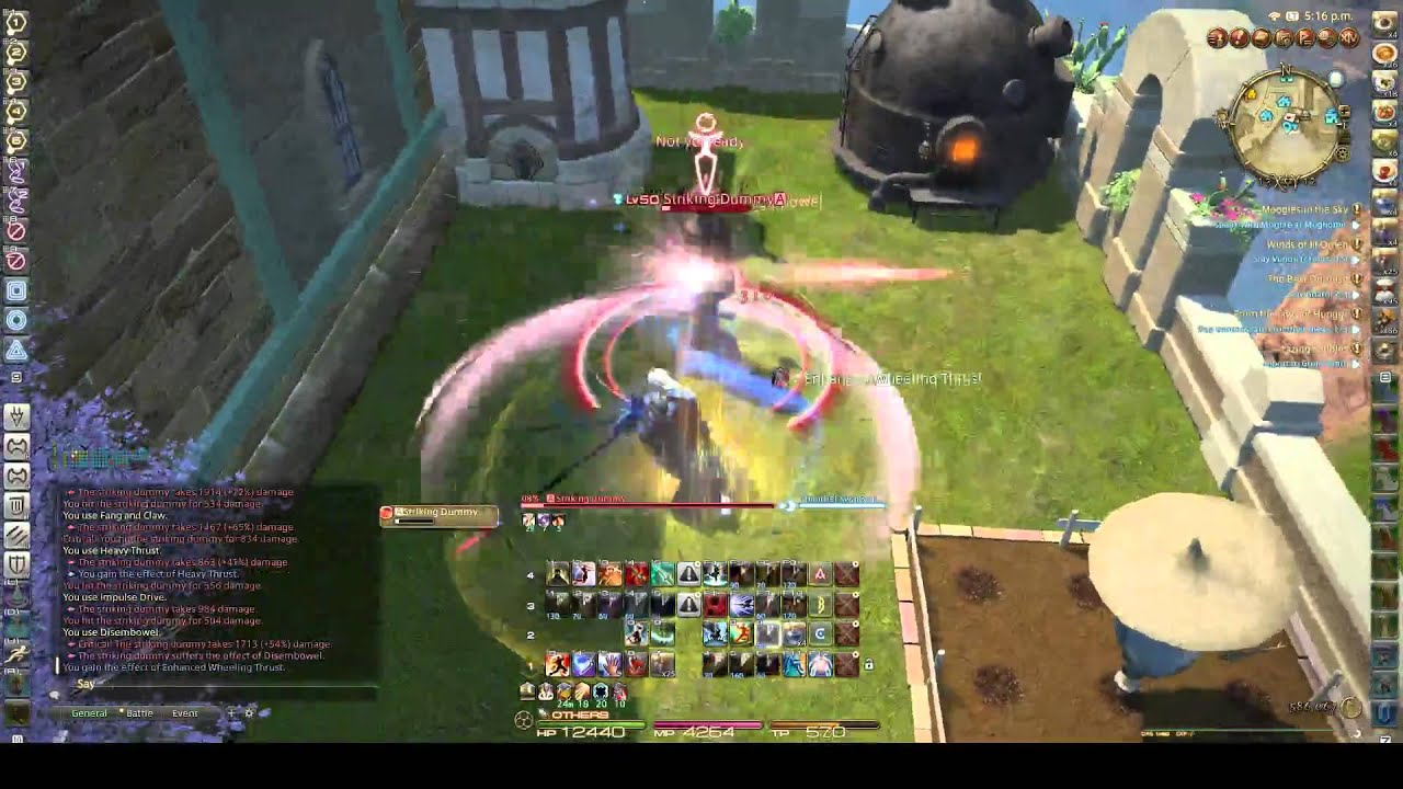 FFXIV: Heavensward - Dragoon (DRG) GCD Rotation - 3 0 | FunnyCat TV