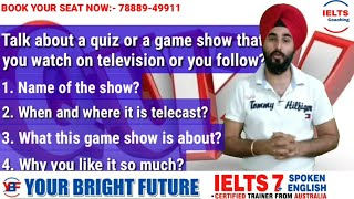 Talk About A Quiz Contest Or A Game Show You Watch On Television | Latest Cue Card With Answer 8.0