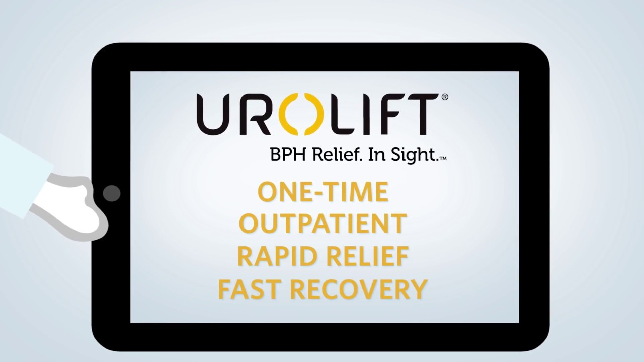 UroLift Procedure for BPH (Enlarged Prostate) - Overview and