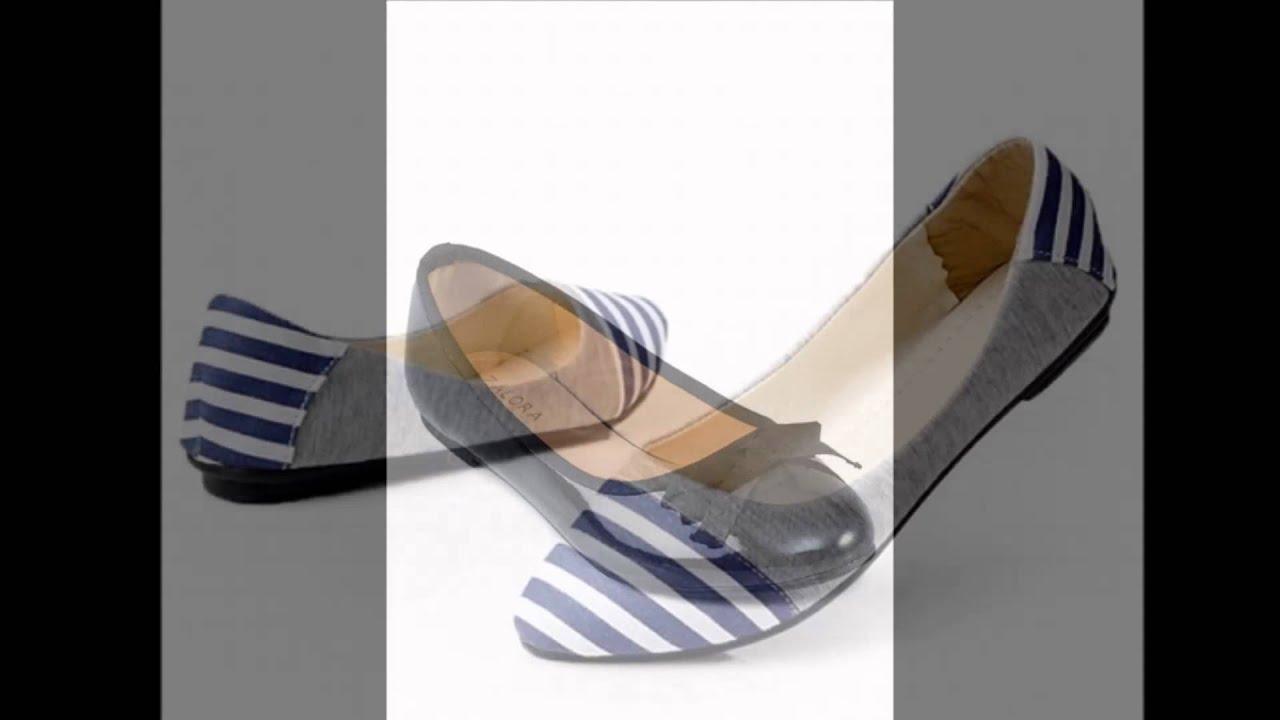 44928f4b4 أحذية باليرينا..أنيقة ومريحة - YouTube