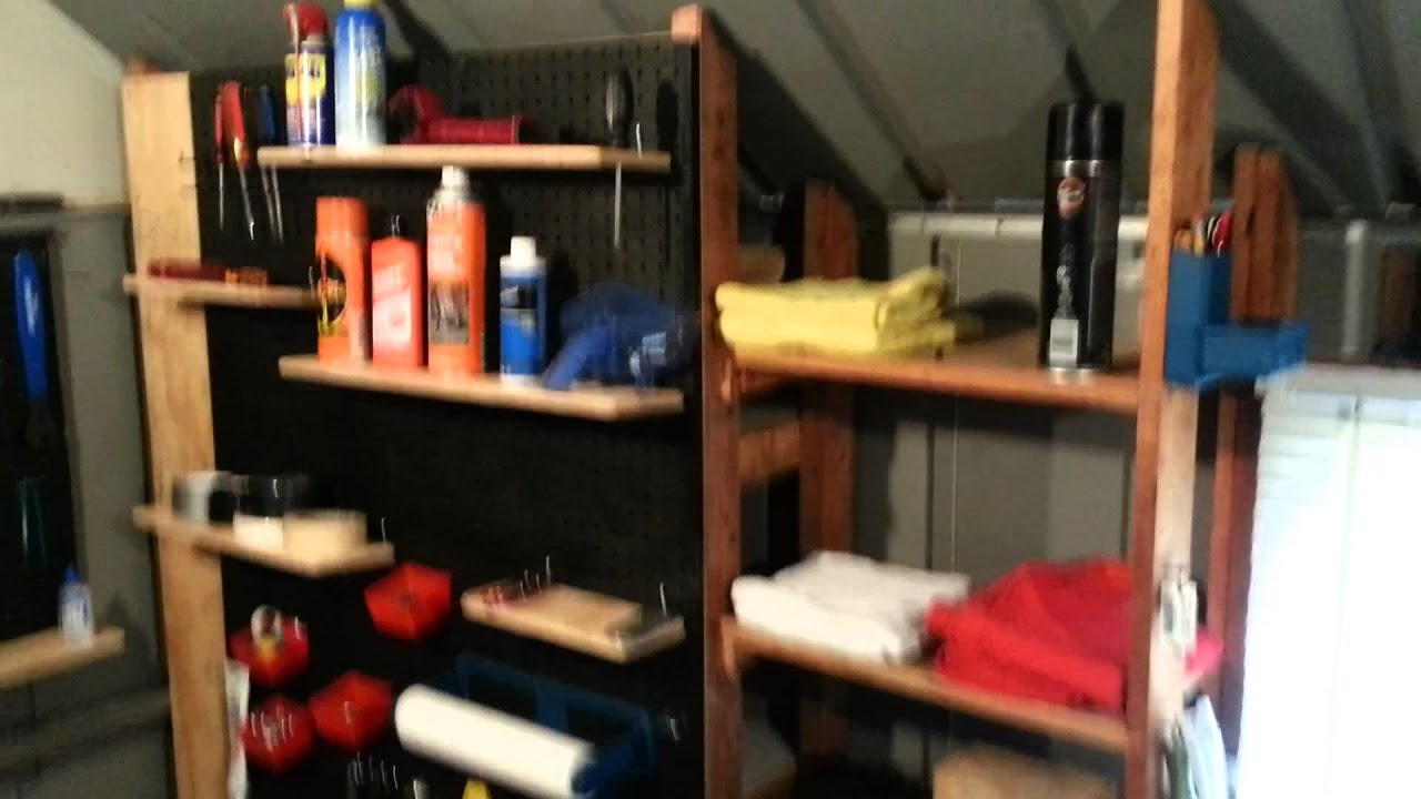 How To Organize Your Storage Shed And Workspace   YouTube