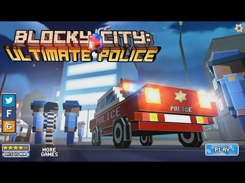 Blocky City Ultimate Police - Android Gameplay HD