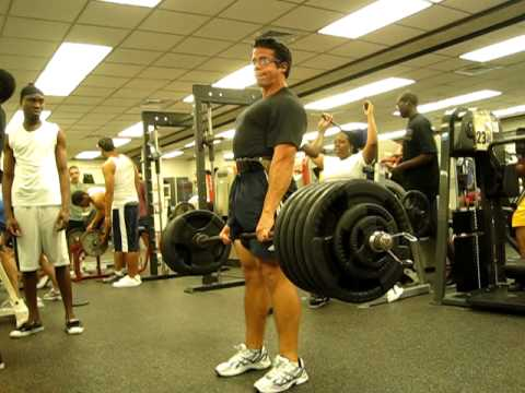 Deadlift 520 pounds at 170 pound bodyweight.