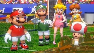 Mario Tennis Aces Ver. 3.0 - New Opening Cutscene & Yoshi