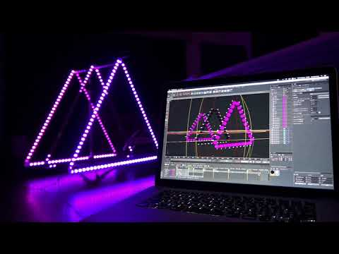 C4DMX: LED design and control with Cinema4D in 3D space