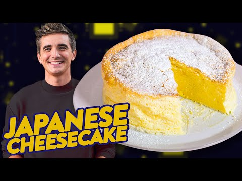 Secret Ingredient for JAPANESE CHEESECAKE? • CLICKPLATE