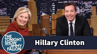 Hillary Clinton and Jimmy Fallon Take a Special Snapchat