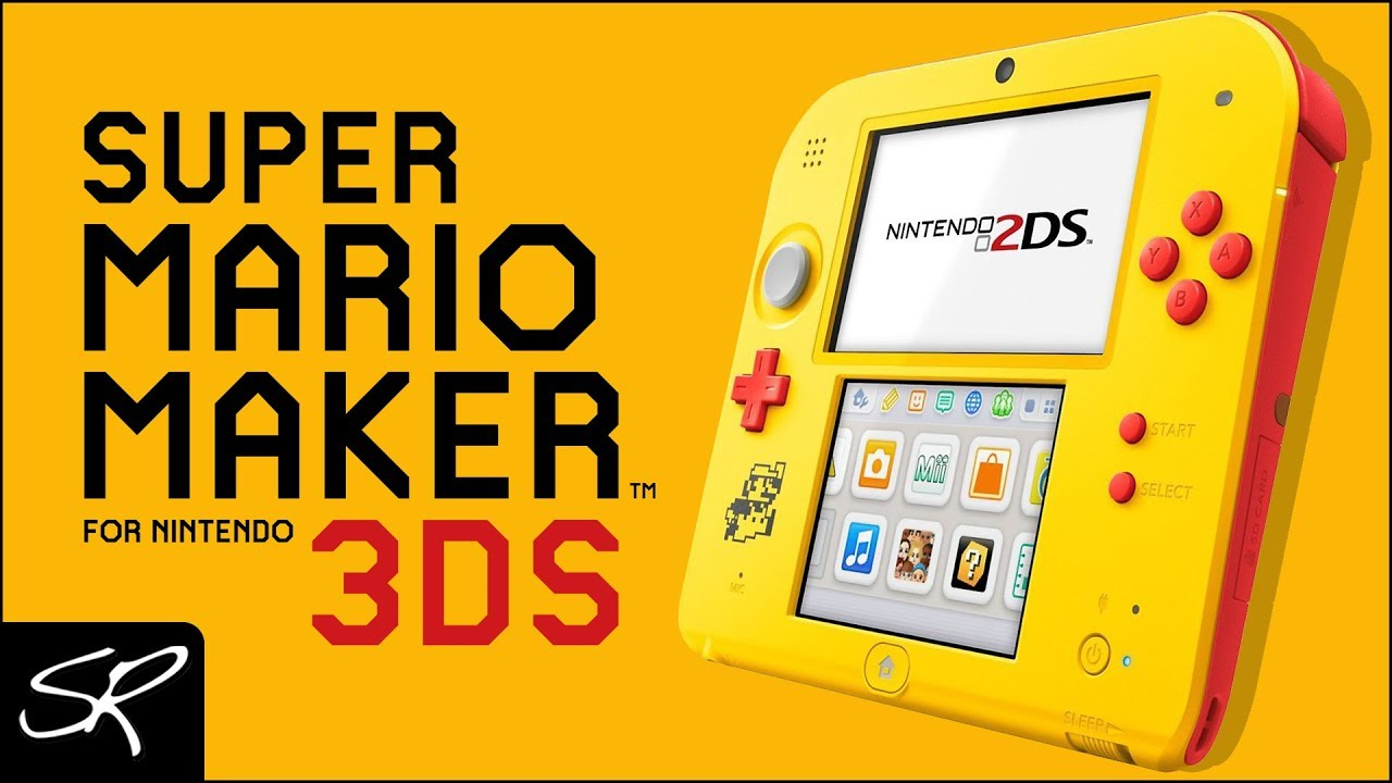Nintendo 2ds Black Friday >> New Nintendo 2ds Super Mario Maker Edition Coming Black Friday