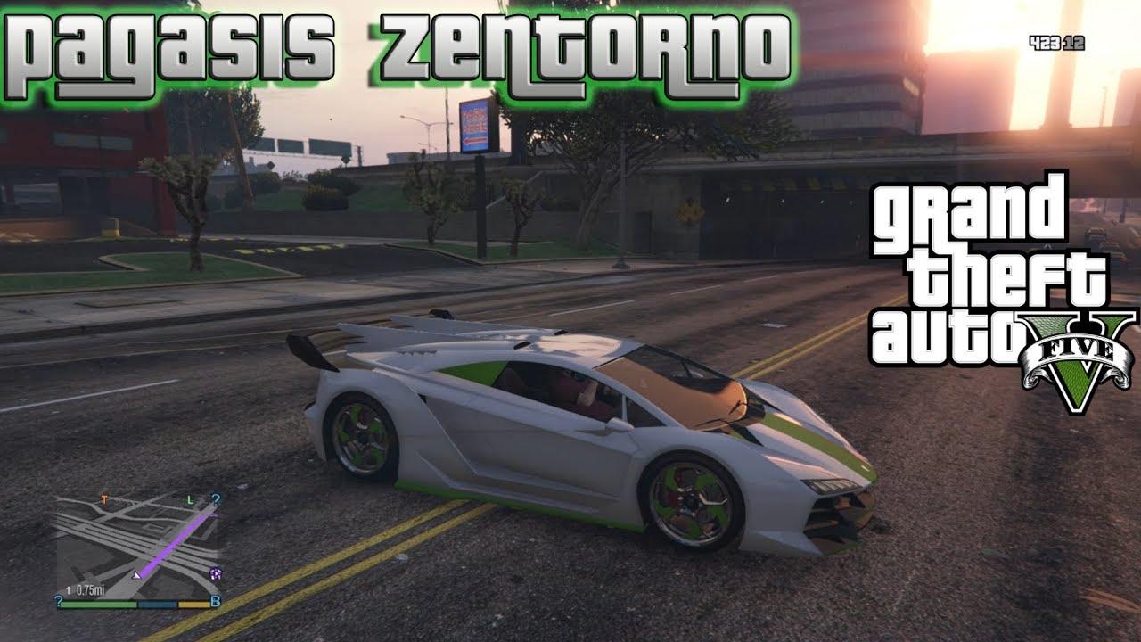 GTA 5 , How To Find Pegassi Zentorno (Lamborghini) Secret Location! Story  Mode