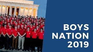 Boys Nation 2019 Highlights