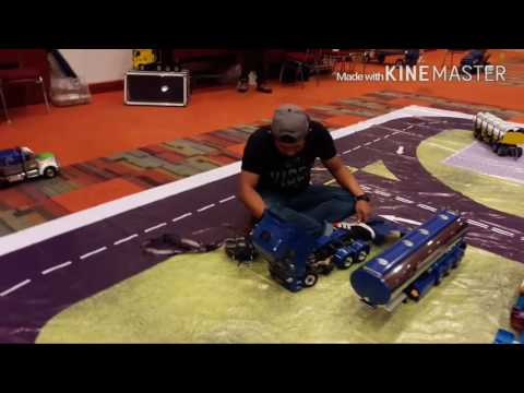 Group Rc Tractor Truck Malaysia at Malaysia Hobby Expo 2016