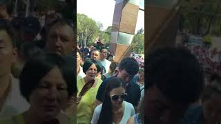 В Алматы началась гражданская панихида.