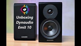 Unbox, giới thiệu Dynaudio Emit 10 - Loa bookshelf nhập môn nhỏ gọn, nhiều công nghệ độc quyền