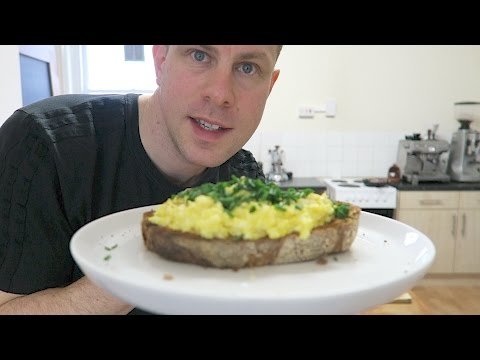 Perfect Scrambled Eggs Recipe + Borough Market London