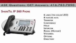 ShoreTel IP 560 Phone Digitcom.ca Business Phone Systems