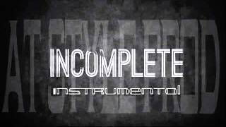 Thousand foot krutch   Incomplete Instrumental