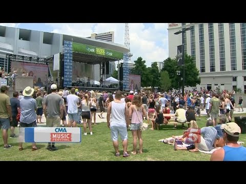 Day 1 Of CMA Music Festival Officially Underway In Nashville