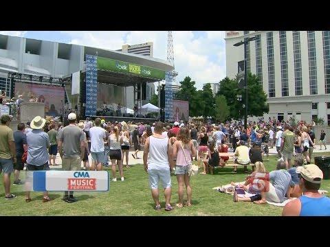 Day 1 Of CMA Music Festival ly Underway In Nashville