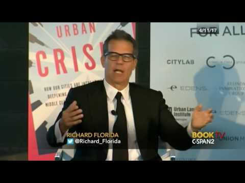 Union Market: The New Urban Crisis Richard Florida talked about his book