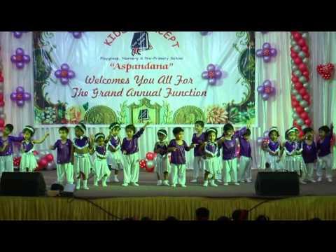 Kids concept pre-primary school playgroup dance