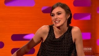 KEIRA KNIGHTLEY Is Not Too Pretty For Movies - The Graham Norton Show on BBC AMERICA