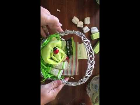 Mothers day #30- of 30 days of gift ideas - gift baskets/mugs and bow tutorial