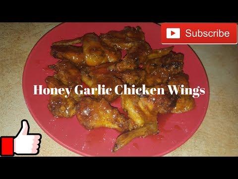 Honey Garlic Chicken Wings In The Oven