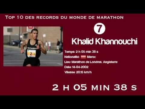 Top 10 des records du monde de marathon