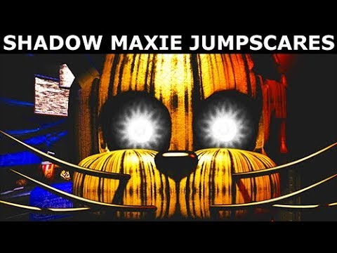 JOLLY 3: Chapter 2 - Shadow Maxie Animatronic Jumpscares & Voices (FNAF Horror Game 2018)