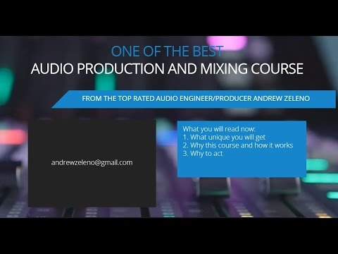 Audio mixing and recording at home (tips from the top rated mixing engineer)
