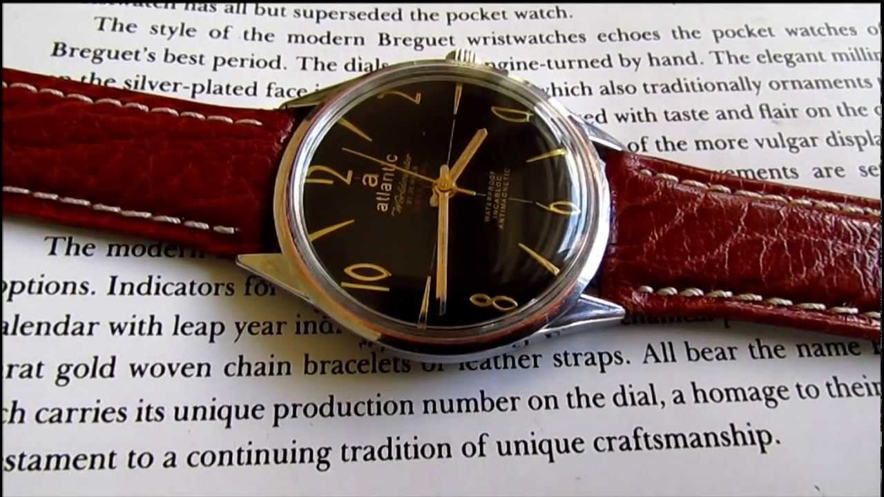 5 Minute Watch Review - Atlantic Seaport Automatic 40mm - YouTube
