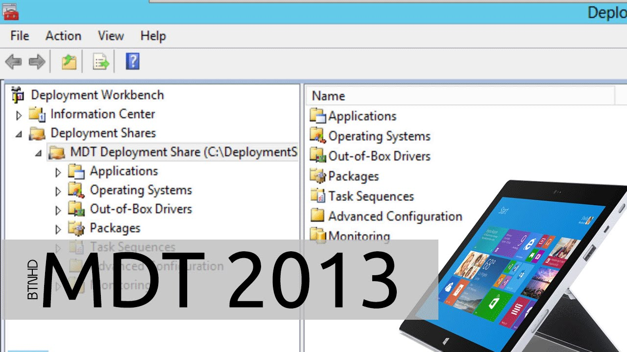 Deploy Windows to Surface Pro 3 using MDT 2013