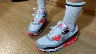 Air Max 90 Infrared (2020) Review And On Feet , Air Max 3