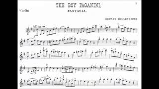 Mollenhauer, Edward  The Infant (+the Boy) Paganini Fantasia for violin + piano