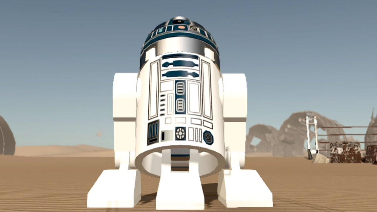 Lego star wars the force awakens r2 d2 free roam gameplay hd youtube - Lego starwars r2d2 ...
