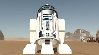 LEGO Star Wars: The Force Awakens - R2-D2 | Free Roam Gameplay [HD]