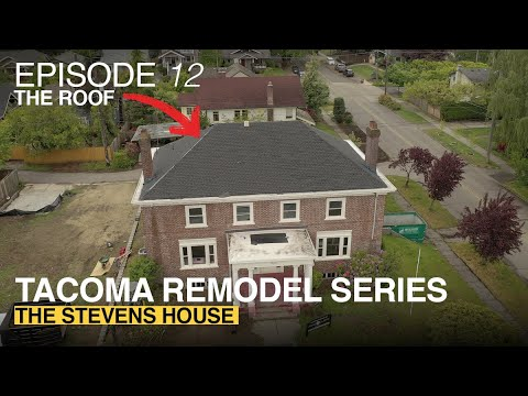 Anne Curry Homes | The Stevens House - Episode 12 | THE NEW ROOF