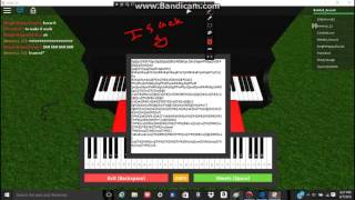 Hopes And Dreams On Roblox Piano!