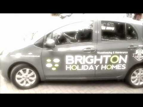 Sussex Vehicle Wrapping | Brighton Fleet Graphics | Colour Change | Brighton Holiday Holmes