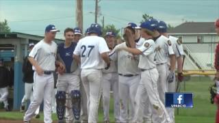 Blues earn walk-off win over Red Wave