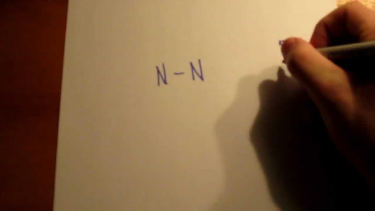 Electron Dot Diagram For N2 Bmw X5 E70 Headlight Wiring Nitrogen Lewis Structure Youtube