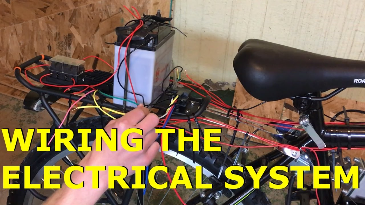 80cc 2 stroke motorized bike build ep18 wiring the electrical system [ 1280 x 720 Pixel ]